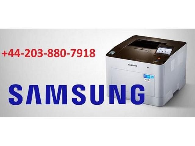 Samsung Printer Tech Support Number        +44 203 880 7918