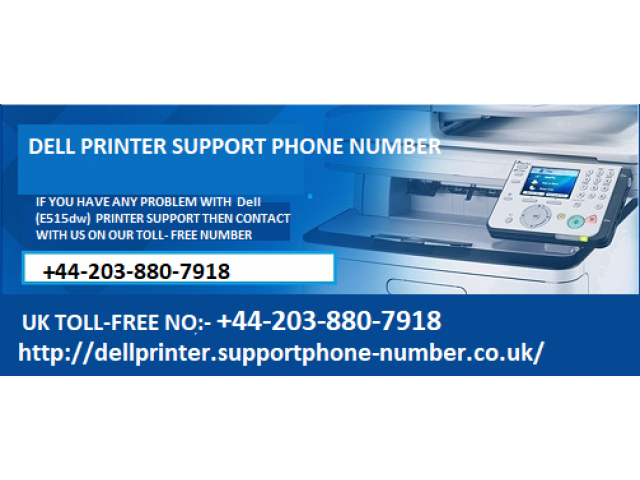 Dell Printer Support Phone Number +44 203 880 7918