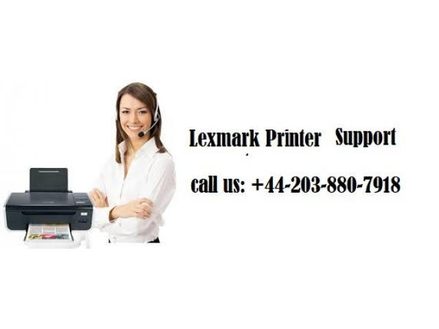 Lexmark Printer Tech Support Number            +44 203 880 7918